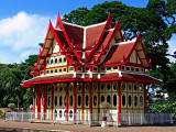 Royal waiting pavilion