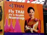 Thai Airways billboard