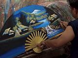 Painting a fan