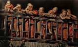 Painting of novice monks