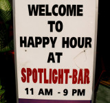 Now, THIS is what I call a HAPPY hour!