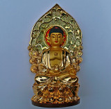 Small image of the Buddha with aura