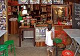 Boy at food shop