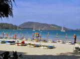 Patong Beach, looking south