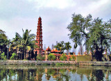 Tran Quoc Pagoda and tombs