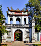 Temple of Literature, front gate