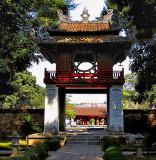 Inner gate, Temple of Literature (Van Mieu)