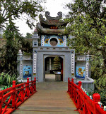Huc Bridge and inner gate