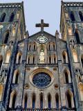 St. Joseph's Cathedral (Nha Tho Lon), facade