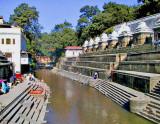 Pasaupatinath Temple on the Bagmati River
