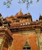 Temple close up