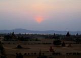 Sunset on Pagan (Bagan)