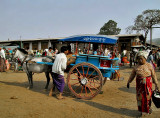 Coming and going at Heho market