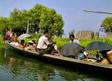 Farmers in a boat