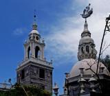 Belvedere towers