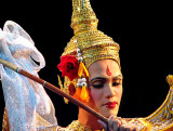 Khon dancer in the role of Rama