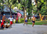 A game of takraw