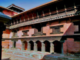Patan Museum front courtyard