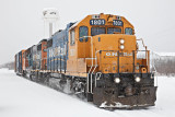Freight train 2010 January 15th