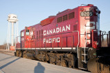 Canadian Pacific Track Evaluation train 2010 May 11