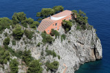 côte est de Capri - Promenade de la pointe Tragara, la villa Malaparte, les Faraglioni