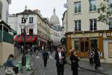 Visite du quartier de la butte Montmartre à Paris