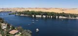 Panorama du Nil et de l'île Kitchener vu depuis l'île Elephantine