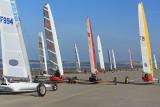 6 heures de Berck 2007 - Course de chars à voile - Land yachting at Berck-sur-Mer