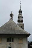 L'église baroque de Combloux, l'un des plus beaux clochers des Alpes