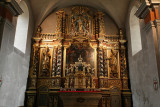 Le retable de l'église baroque de Combloux