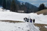 Balade vers le chalet La Montagnette, au-dessus de Praz-sur-Arly