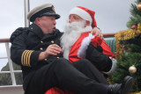 The Captain asks Santa for a gift