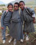 Schoolkids, Paro Valley