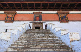 Paro Dzong main entrance
