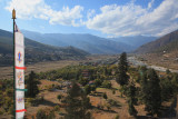 View of Paro from the Dzong