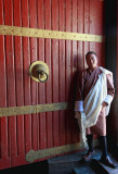 Guide Chencho, Paro Dzong