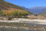 View from Paro town