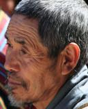 Wizzened face, Gangtey Goemba