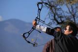 Archery contest near Wangdichholing Palace