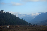 The beautiful Phobjikha Valley