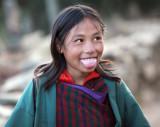 Phobjikha schoolgirl