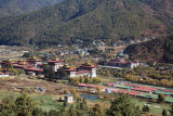 Trashi Chhoe Dzong and the SAARC Building