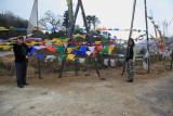 Yotong La prayer flags