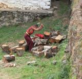 Firewood chores