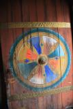 Trongsa Dzong door