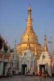 Shwedagon Pagoda stupa