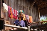 Colouring yarn