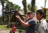Cross-bow marksman