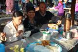 Mohinga stall breakfast