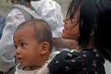Tagaung girl and baby